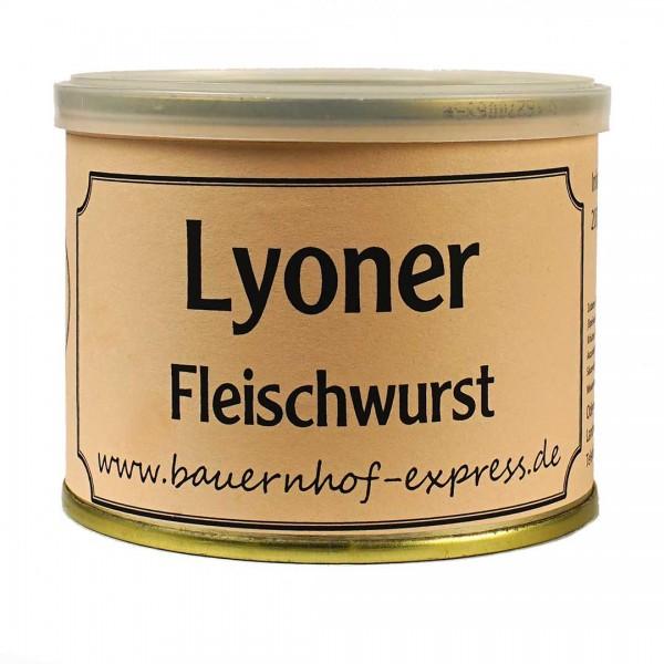 Lyoner Fleischwurst in der 200gr Dose