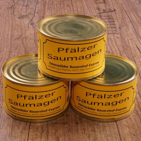 Pfälzer Saumagen - da ist alles drin, was zu einer Mahlzeit gehört!