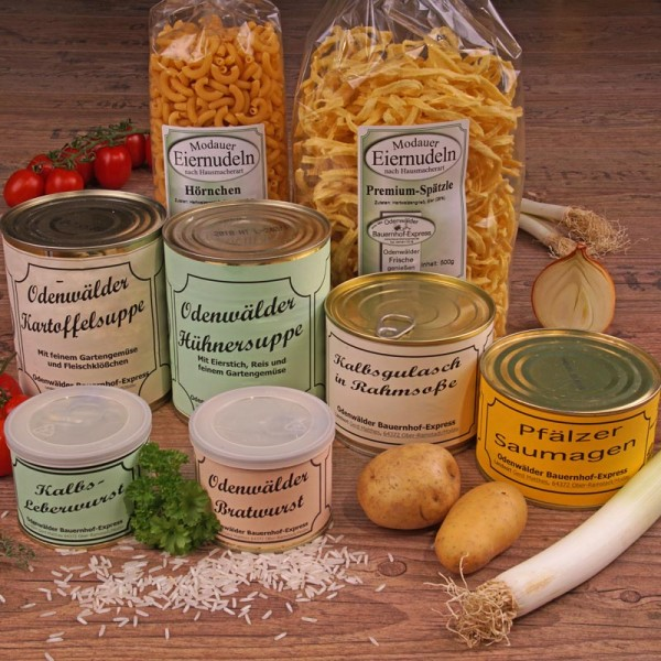 Feine Odenwälder Spezialitäten in einer Auswahl für Feinschmecker