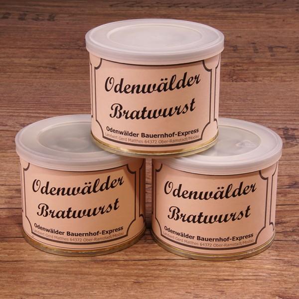 Odenwälder Bauern Bratwurst in der 200 gr Dose