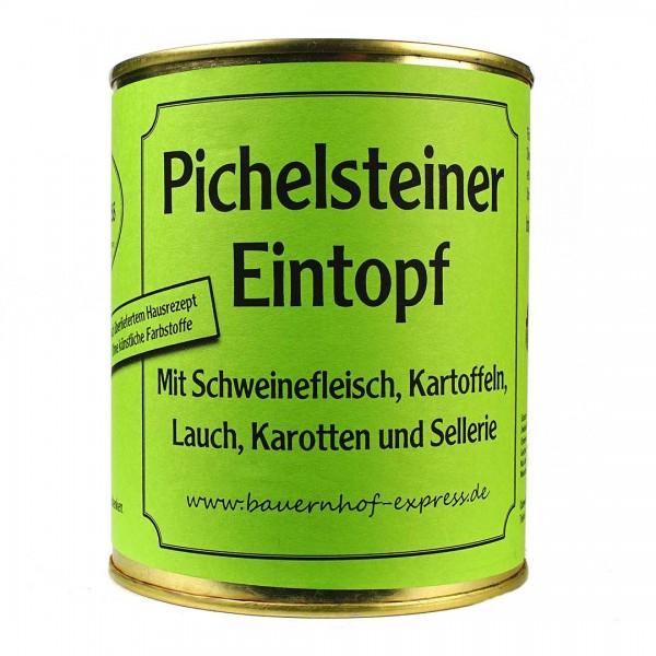 Eine vollwertige Mahlzeit ist dieser Pichelsteiner Eintopf